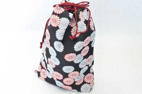 画像1: 弽巾着 菊