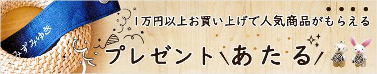 1万円以上お買い上げプレゼントキャンペーン